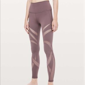 Lululemon Wunder Under High-Rise Tight Mesh